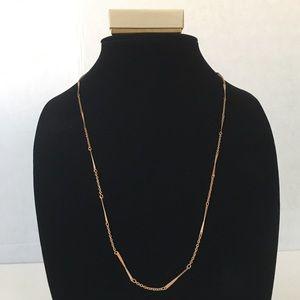 Vintage Avon Twist Bar & Chain Necklace Costume